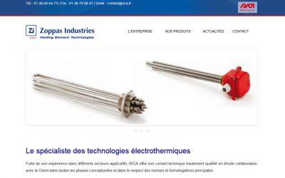 RICA France : Le spécialiste des technologies électrothermiques.